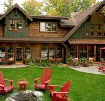 Дом в деревне дизайн