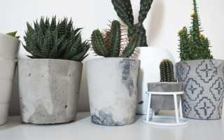 Изделия из декоративного бетона