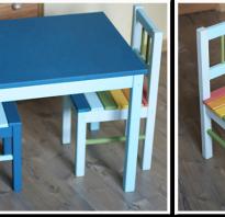 Как украсить детский стульчик