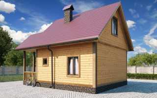 Дизайн дома 6х6