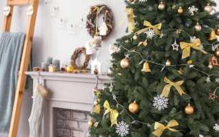 Дизайн елки на новый год