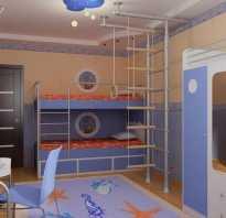 Дизайн детской для мальчика 2 года