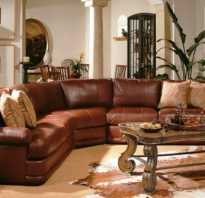 Обои в интерьере с коричневой мебелью