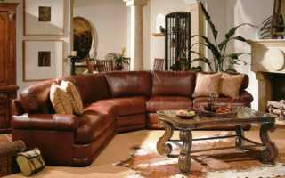С какими обоями сочетается коричневая мебель