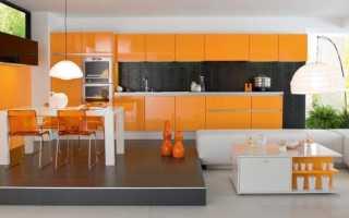 Цветная кухня фото дизайн