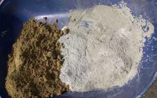 Пропорции цемента и песка для штукатурки