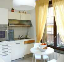 Дизайн штор в современной кухне