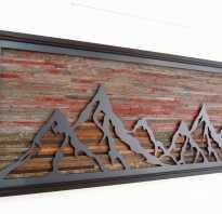 Изделия из дерева на стену
