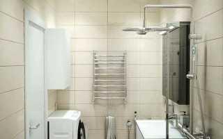 Дизайн ванной комнаты с кафелем