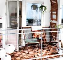 Дизайн для маленького балкона