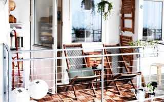 Дизайн маленьких балконов фото