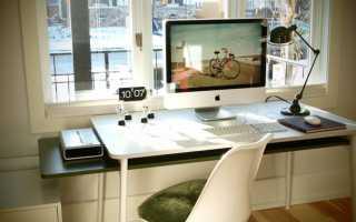 Интерьер компьютерного стола