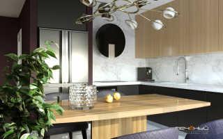 Дизайн проект 4 х комнатной квартиры