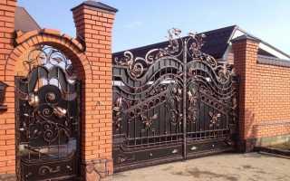 Декор на ворота