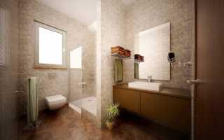 Дизайн ванной комнаты 9 кв