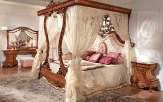 Спальни с балдахином