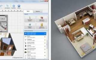 Моделирование интерьера квартиры
