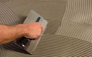 Чем приклеить кафельную плитку к стене