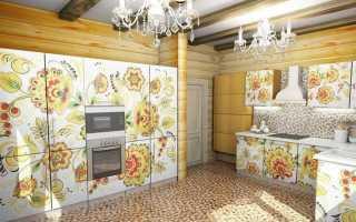 Русский деревянный дом интерьер