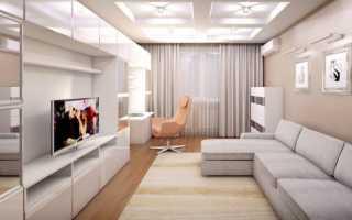 Интерьер комнаты 20 кв метров