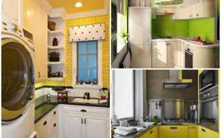 Малогабаритная кухня в хрущевке дизайн