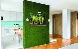 Дизайн перегородки в комнате