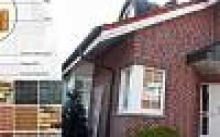 Отделка дома клинкерными термопанелями