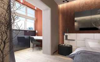 Дизайн зала с балконом в квартире фото