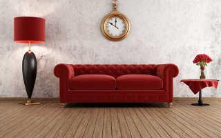 Сочетание красного цвета с другими в интерьере
