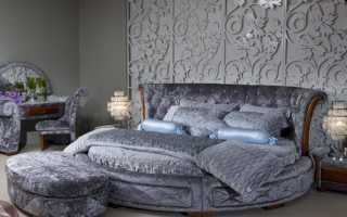 Кровать в современном интерьере
