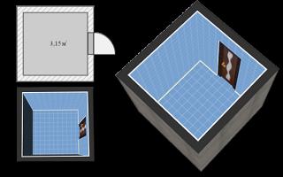 Создать свой дизайн ванной комнаты онлайн бесплатно