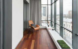 Материал для внутренней отделки балкона