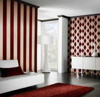 Сочетание цвета мебели и обоев в интерьере