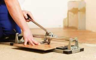 Как обрезать кафельную плитку