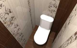 Туалет в хрущевке дизайн фото плитка