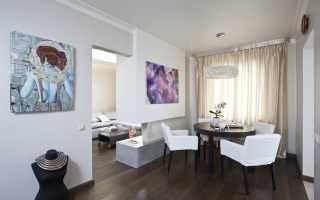 Дизайн двухкомнатной квартиры 57 кв м