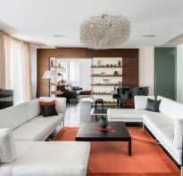 Уютная современная гостиная