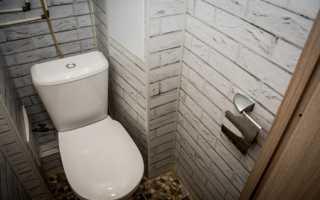 Отделка туалета в квартире своими руками