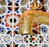 Ванная комната в марокканском стиле