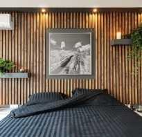 Декор из реек на стену