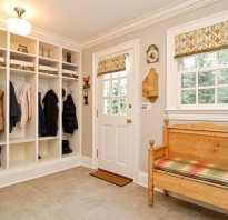 Прихожая комната в частном доме