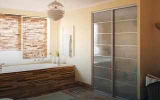 Шкафы купе в ванную комнату