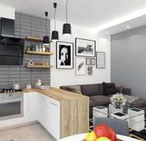 Кухни в квартире студии фото дизайн