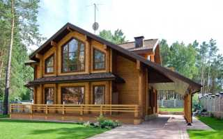 Картинки домов из дерева