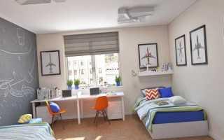 Детская комната для двух девочек дизайн