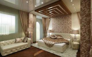 Спальня в загородном доме дизайн