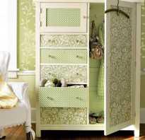 Декор на шкафу
