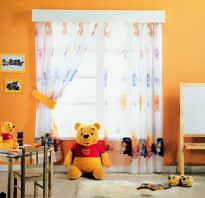 Тюль в детскую комнату короткая