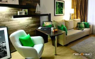 Интерьер маленькой квартиры в светлых