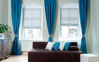 Дизайн штор для маленьких окон